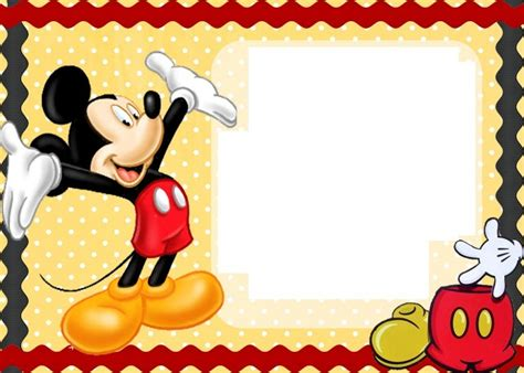 17 best ideas about mickey mouse birthday invitations on