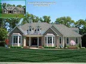 landscaping ideas for front of ranch style house front yard landscaping ranch style house the garden