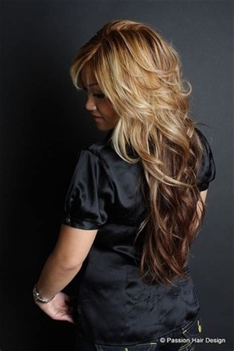 long hair with short layers on crown of head long hair with short layers beautylish