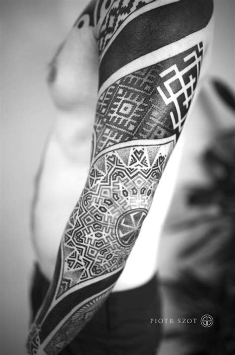 slavic tattoos by polish artists lamus dworski