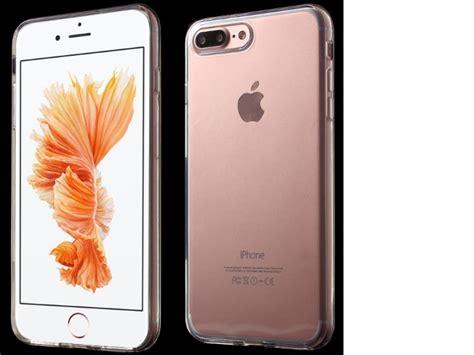 funda de silicona para el iphone 7 plus 8 plus tpu transparente