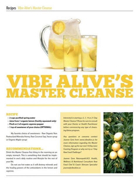 Master Cleanse Detox Diet Plan by 74 Best Images About Master Cleanse On Benefit