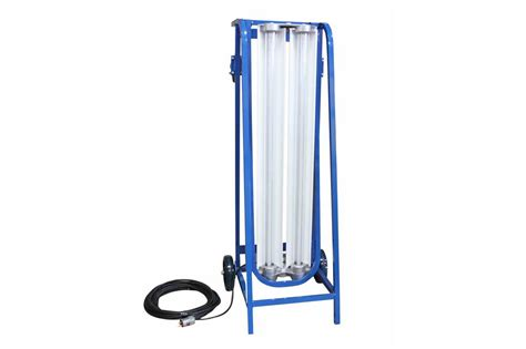 to light cart explosion proof paint spray booth led light on dolly cart