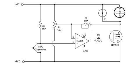 ntc thermistor radio shack fancontrol