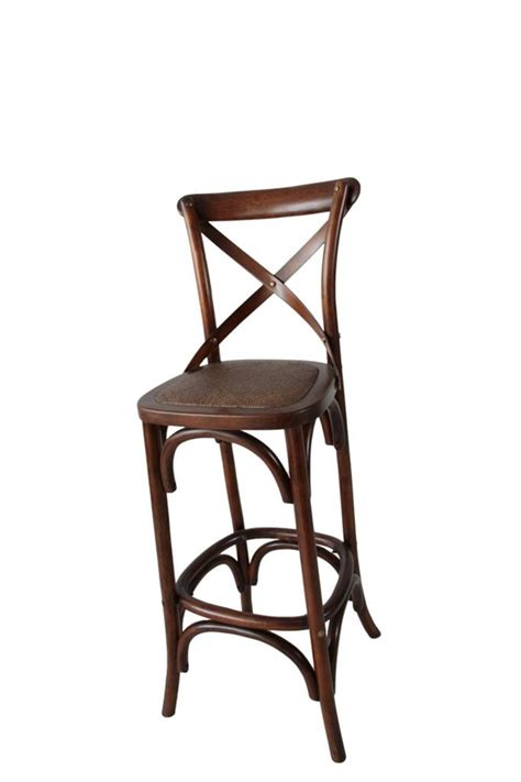 Cross Back Bistro Chair New Quot Noosa Quot Oak Toffee Bistro Style Timber Cross