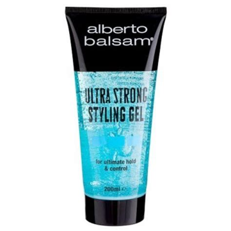 styling gel ultra strong alberto balsam ultra gel tube 200ml
