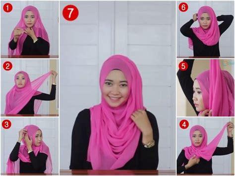 tutorial hijab utk kerja 38 tutorial model hijab paris terbaik 2017 2018 model baru