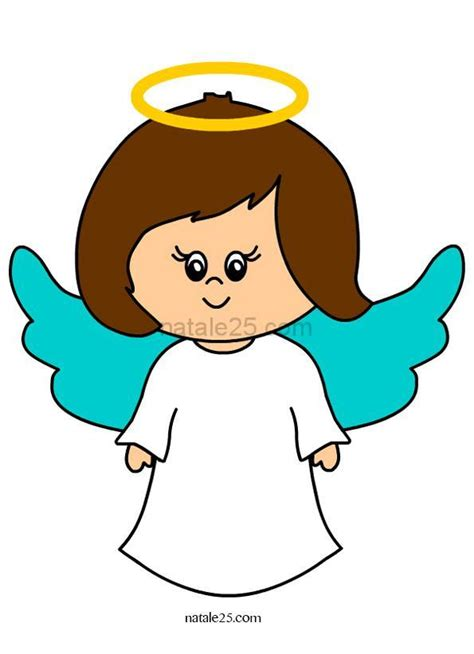 clipart angeli angelo custode clip natale 25