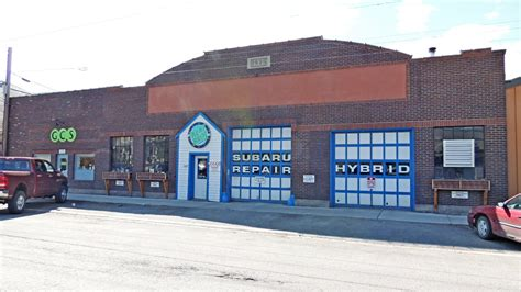 Bell Garage by H O Bell Garage Missoula Mt Nrhp Historic Districts