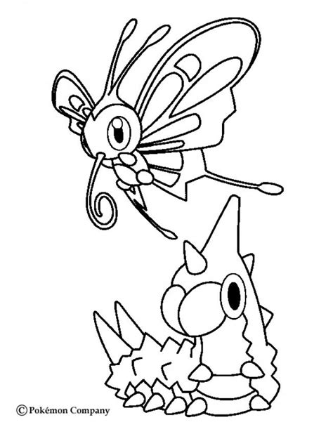 pokemon coloring pages beautifly wurmple and beautifly coloring pages hellokids com