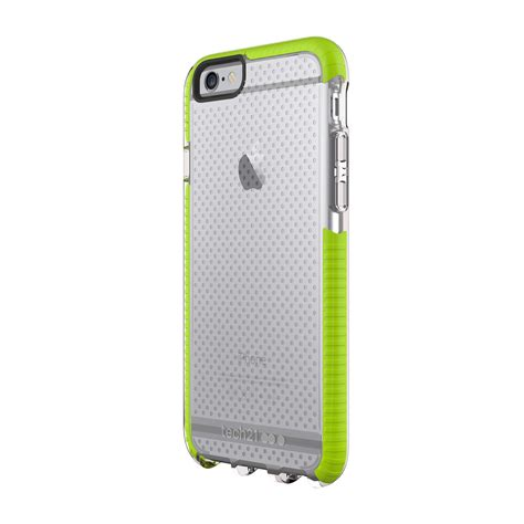 Green Iphone All Hp evo mesh sport clear green iphone 6 6s tech21 touch of modern