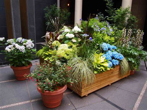 backyard planter designs small backyard garden and patio house with stone floor