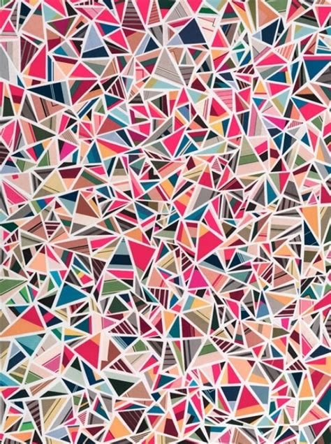 triangle pattern art 101 best images about geometric pattern print on pinterest