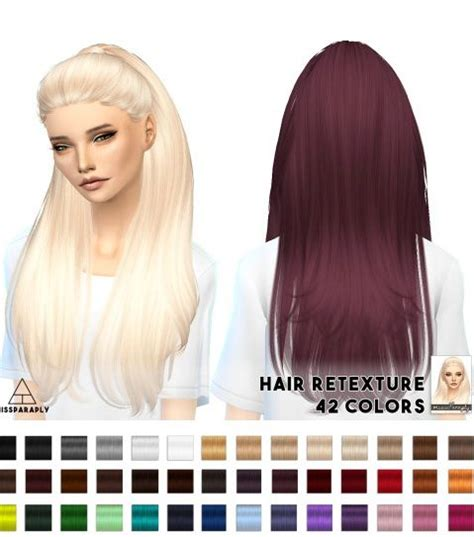free sims 4 cc hairstyles hair retextures nightcrawler break free from