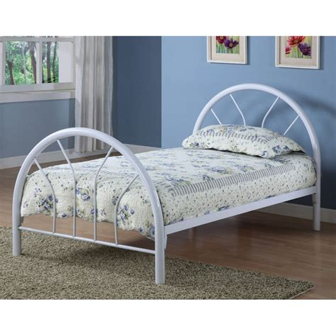 twin bed metal frame metal bed frame twin in beds and headboards
