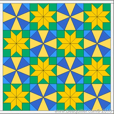 Beaquilter: EQ7 tutorial Tuesday  Star blocks, which to