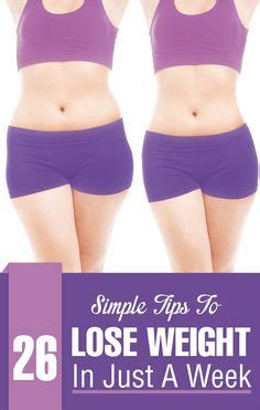 how to lose weight in a week at home how to lose weight in a week 23 simple tips lose