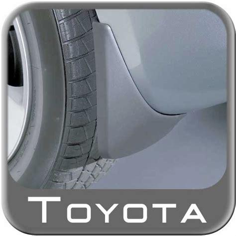 Toyota Mud Flaps 2009 2011 Toyota Yaris Mudflaps Black
