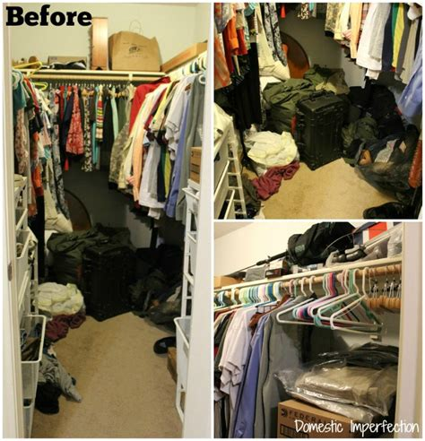 messy closet 40 bags in 40 days the results domestic imperfection