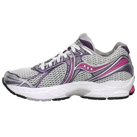 saucony pink running shoes powergrid triumph 9 road running shoes white purple pink