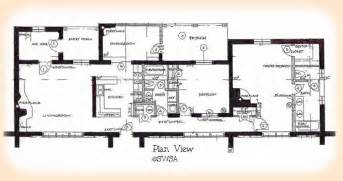 house plans with two master bedrooms 2 bedroom adobe house plans adobe house plan 1930