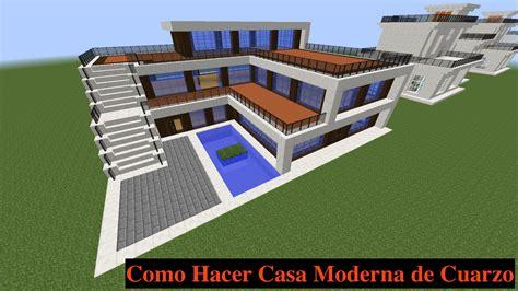 imagenes de casas epicas de minecraft como hacer una casa moderna en minecraft pt1 youtube