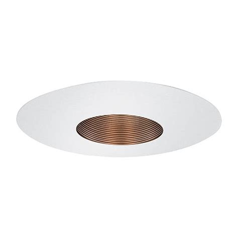 6 Recessed Lighting by 6 Quot Recessed Lighting Par 20 Bronze Stepped Baffle White