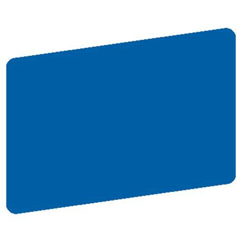 blank membership card template blank blue utility stress matte hospital