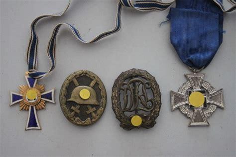German Decorations Ww2 by 4 German Reich Wehrmacht Decorations Ww2 Catawiki