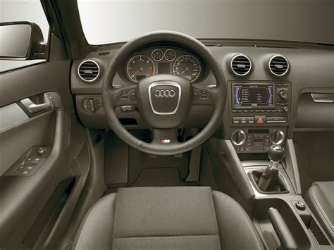 Audi A3 Sline Interior by Audi A3 Sportback S Line 2004 Picture 08 1280x960