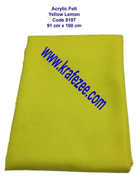 Kain Acrylic kain felt acrylic lembut di bangi kajang kl selangor