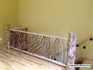 premade banister rustic handrails for the home options and materials for