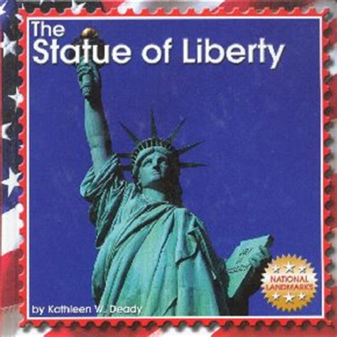 on liberty books w deady children s author statue of liberty