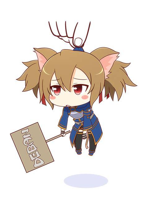 Bando Fox Coklat Sillica Sao silica alo ayano keiko image 1759891 zerochan anime image board
