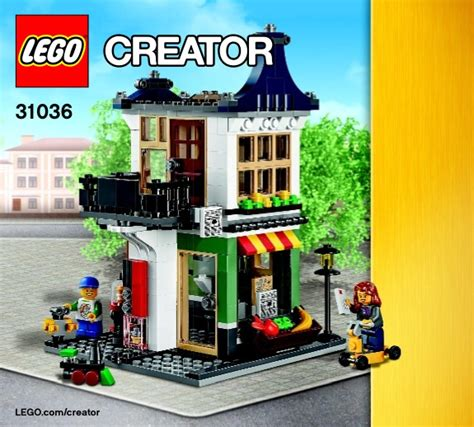 Lego 31036 And Grocery Shop creator lego and grocery shop 31036 creator