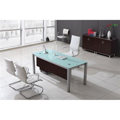 executive glass office desk corp designs sling series glass top executive desks cd sling s72
