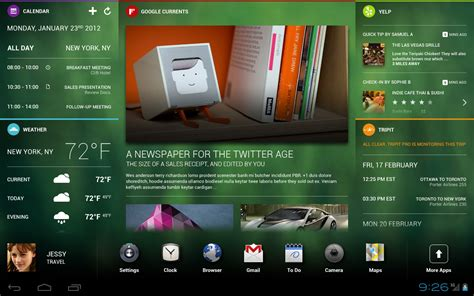 android forum chameleon ics travel dashboard prototype homescreens and customisations album gallery