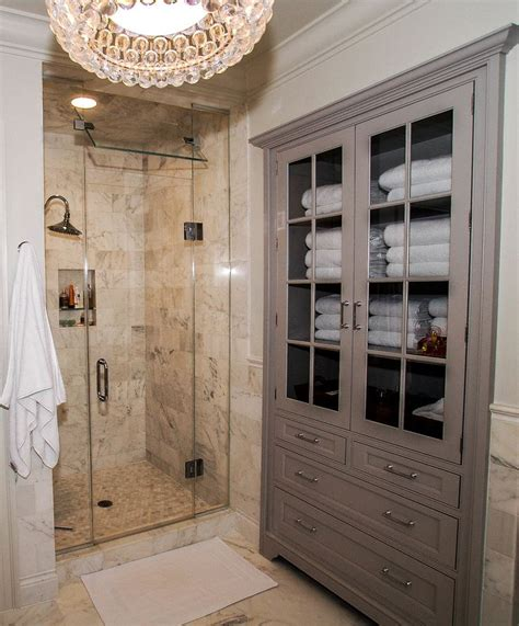 bathroom linen cabinet with glass doors 25 best ideas about bathroom linen cabinet on