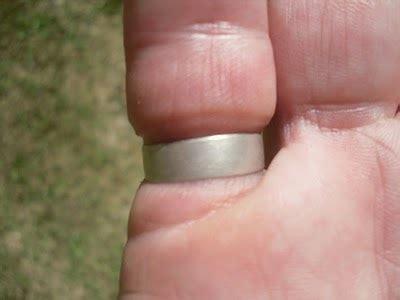 Mens Wedding Bands Cobalt – Laser Carved Forest Pattern Men's Wedding Ring in Cobalt