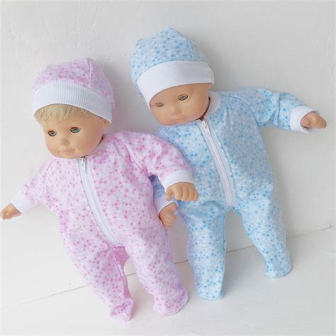 Twones Baby Doll Shirt doll clothes for bitty baby and boy dolls blue and