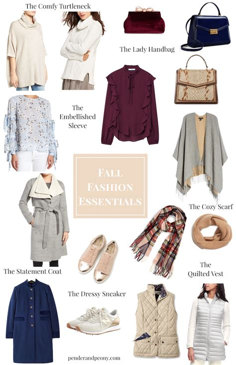 Top 10 Fall Fashion Finds by Fall Fashion Essentials Pender Peony A Southern