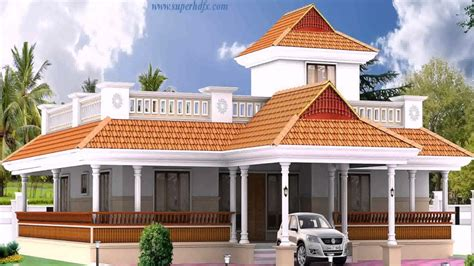 single floor 4 bedroom house plans kerala kerala style 3 bedroom house plans single floor youtube