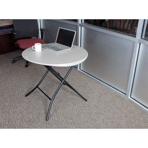 Lifetime Folding Table 80230 Putty Color 33 Inch