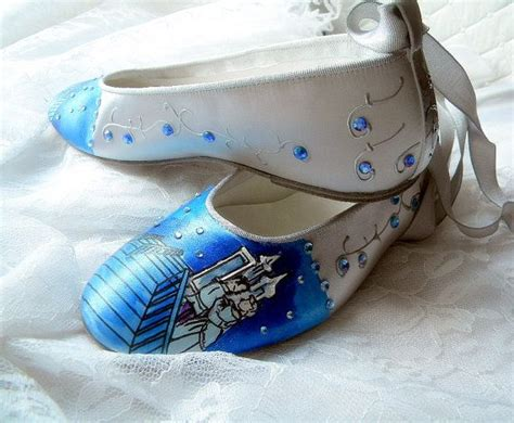 cinderella flat shoes wedding shoes tale wedding cinderella glass slipper