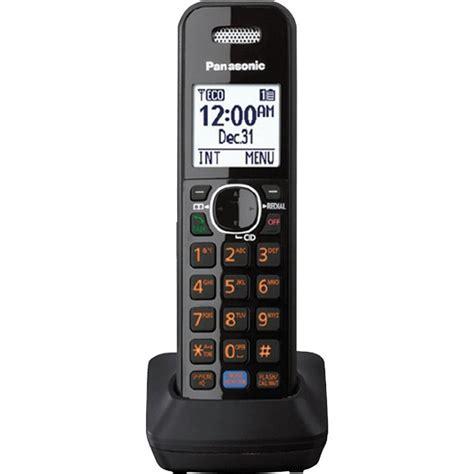 Ready Telephone Wireless Panasonic Kx Tgb210 Black panasonic kx tga680b dect 6 0 accessory bluetooth handset for kx tg68 and kx tg78 series black