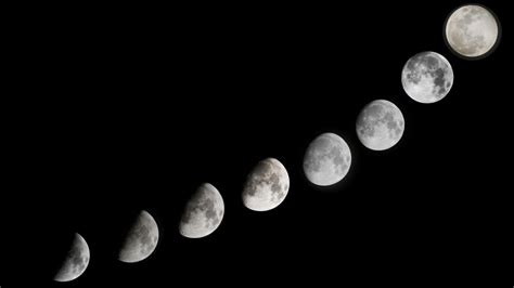 why does the moon change shape during the month reference