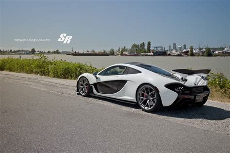 custom mclaren p1 white mclaren p1 stuns on matte anthracite pur wheels