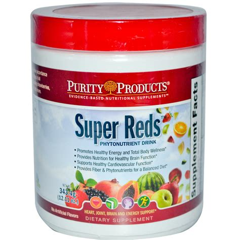 4g supplement review purity products reds phytonutrient drink 12 11 oz