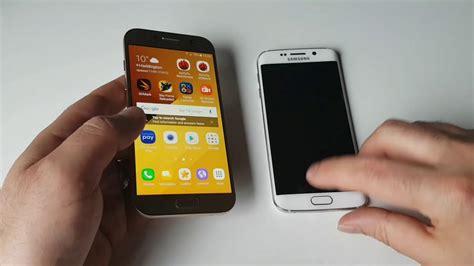Samsung A5 Edge samsung evolution galaxy a5 2017 vs galaxy s6 edge