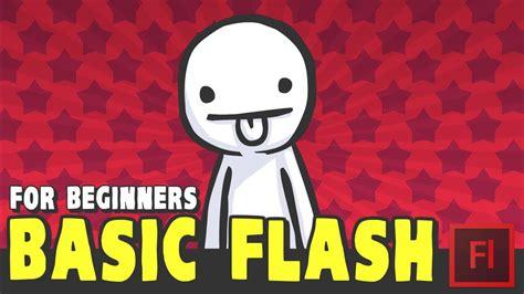 tutorial flash for beginner tutorial basic flash for beginners adobe animate flash